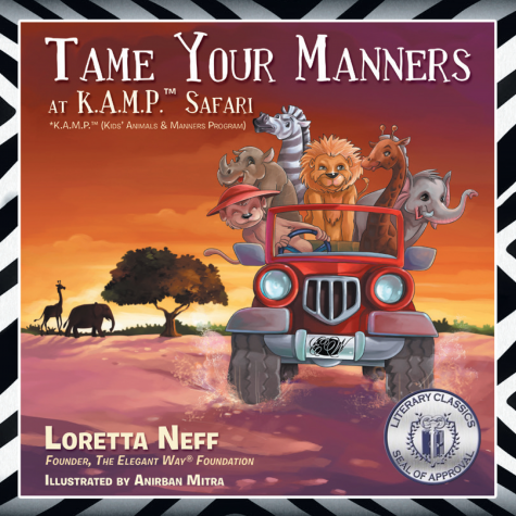 Tame Your Manners Book Cover Seal